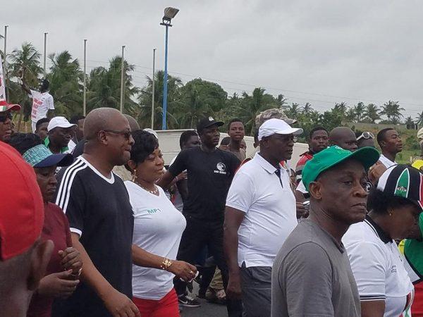 PHOTOS: NDC hold last Unity Walk at Aflao
