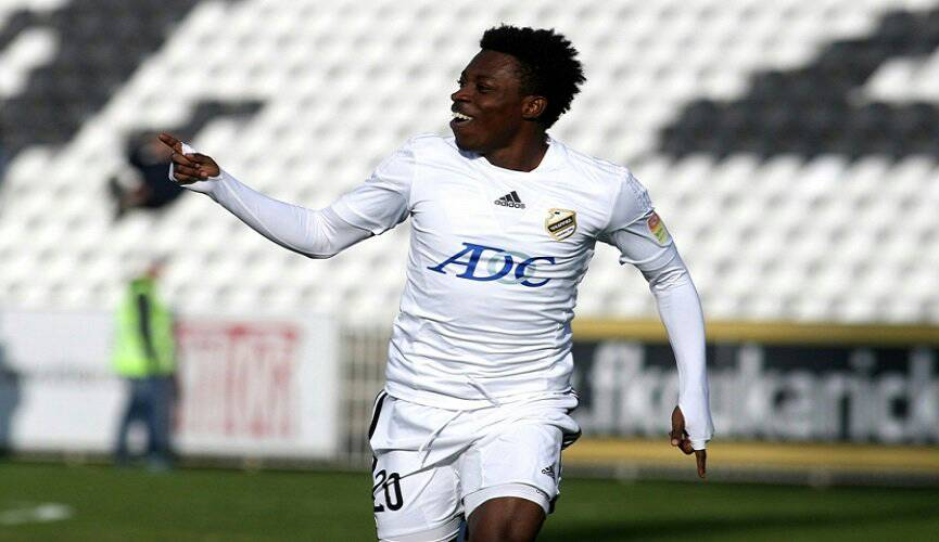 Former Asante Kotoko midfielder Obeng Regan set to join Spanish side Deportivo Alaves - Report