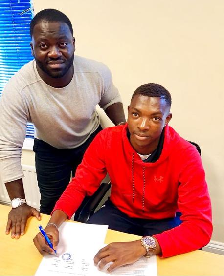 Former Ghana U17 striker Rudolf Blagogee joins NK Osijek