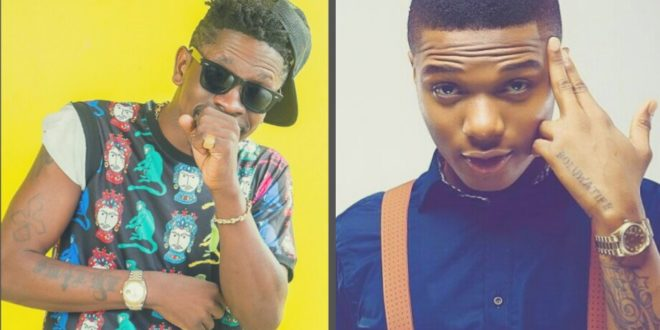 VIDEO: Wizkid partying inside Shatta Wale's mansion after Ghana meets Naija