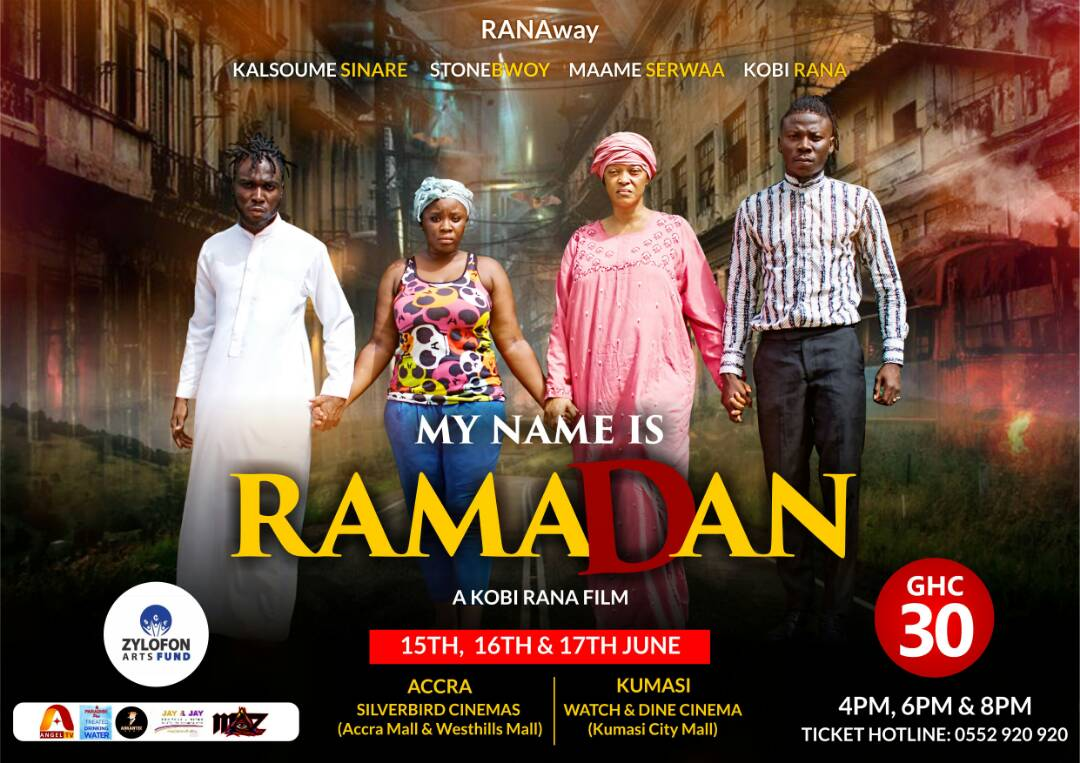Stonebwoy in new Kobi Rana movie 'Ramadan' shows this weekend in Accra and Kumasi