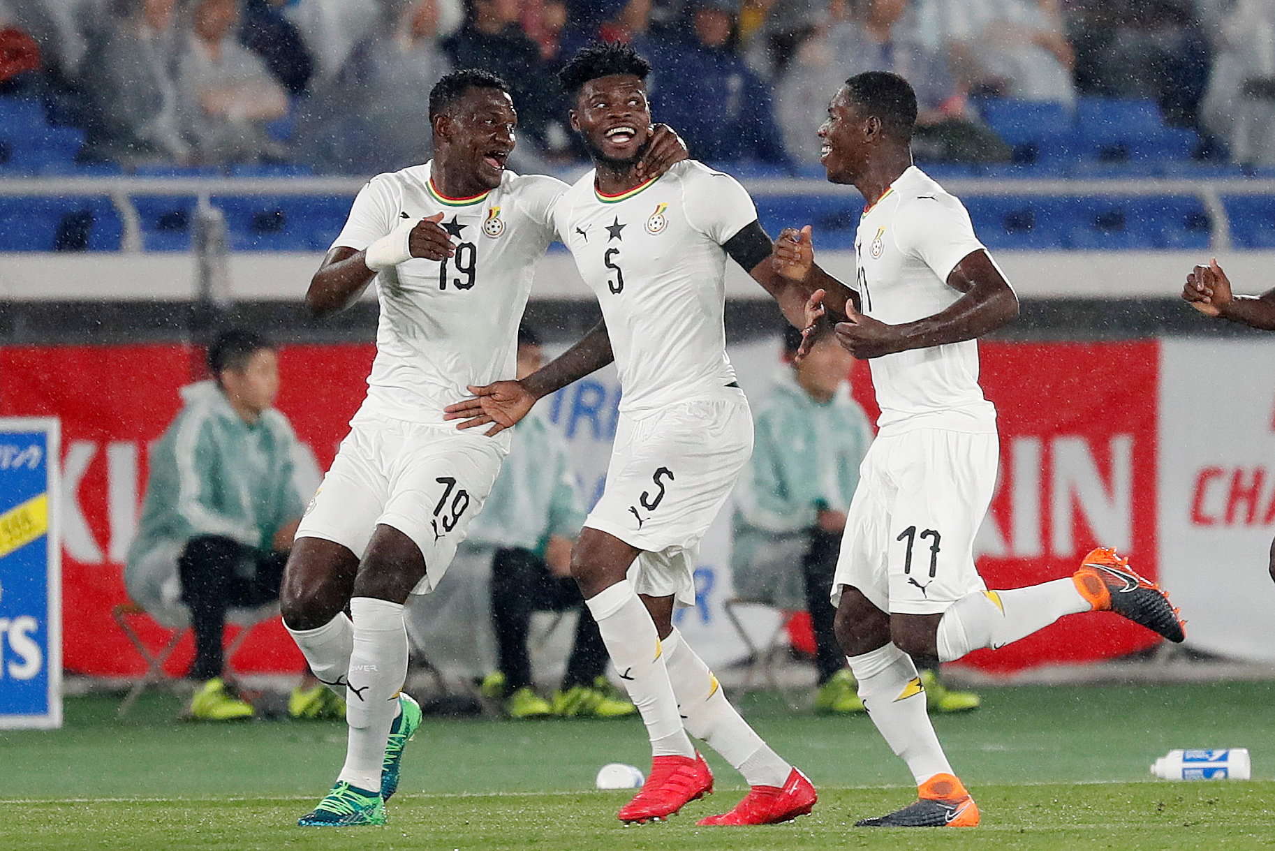 Kassim, Partey shine in Black Stars 2-2 stalemate against Iceland