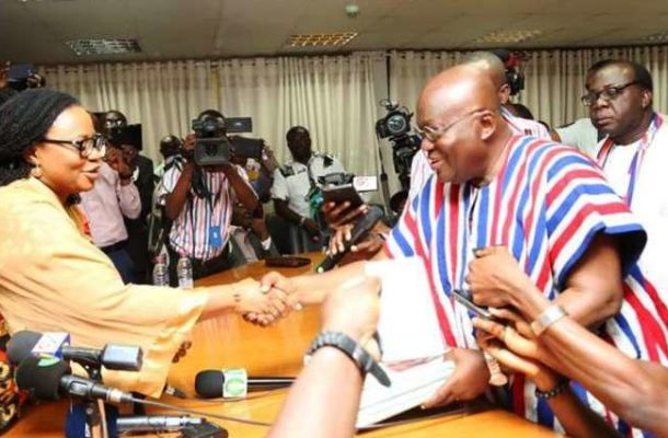 I Don't Hate Charlotte Osei; Ousting Her Was Difficult - President Akufo-Addo Breaks Silence