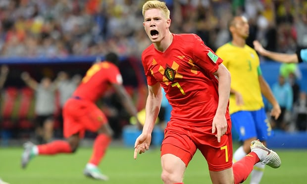 Brazil 1 Belgium 2: Selecao knocked out by Kevin De Bruyne and brilliant Red Devils