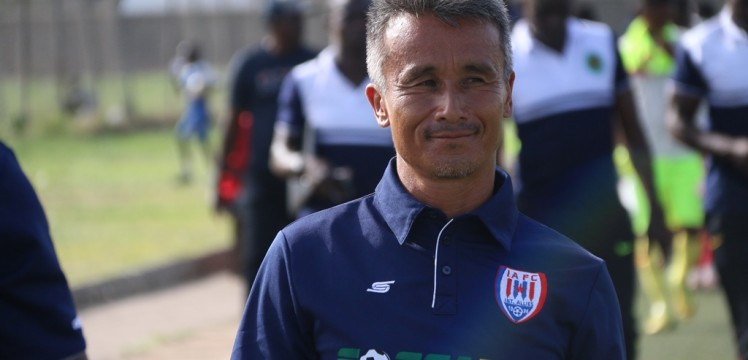 Inter Allies expounds on reasons behind coach Kenichi Yatsuhashi's exit