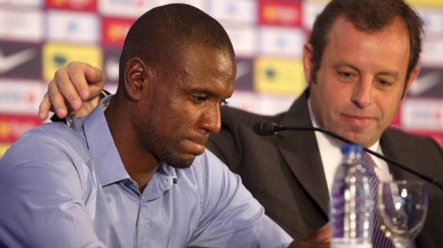 Barcelona deny former president bought illegal liver for Abidal