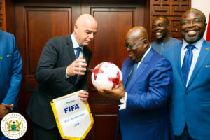 FIFA extends invitation to President Akufo-Addo to watch World Cup finals live