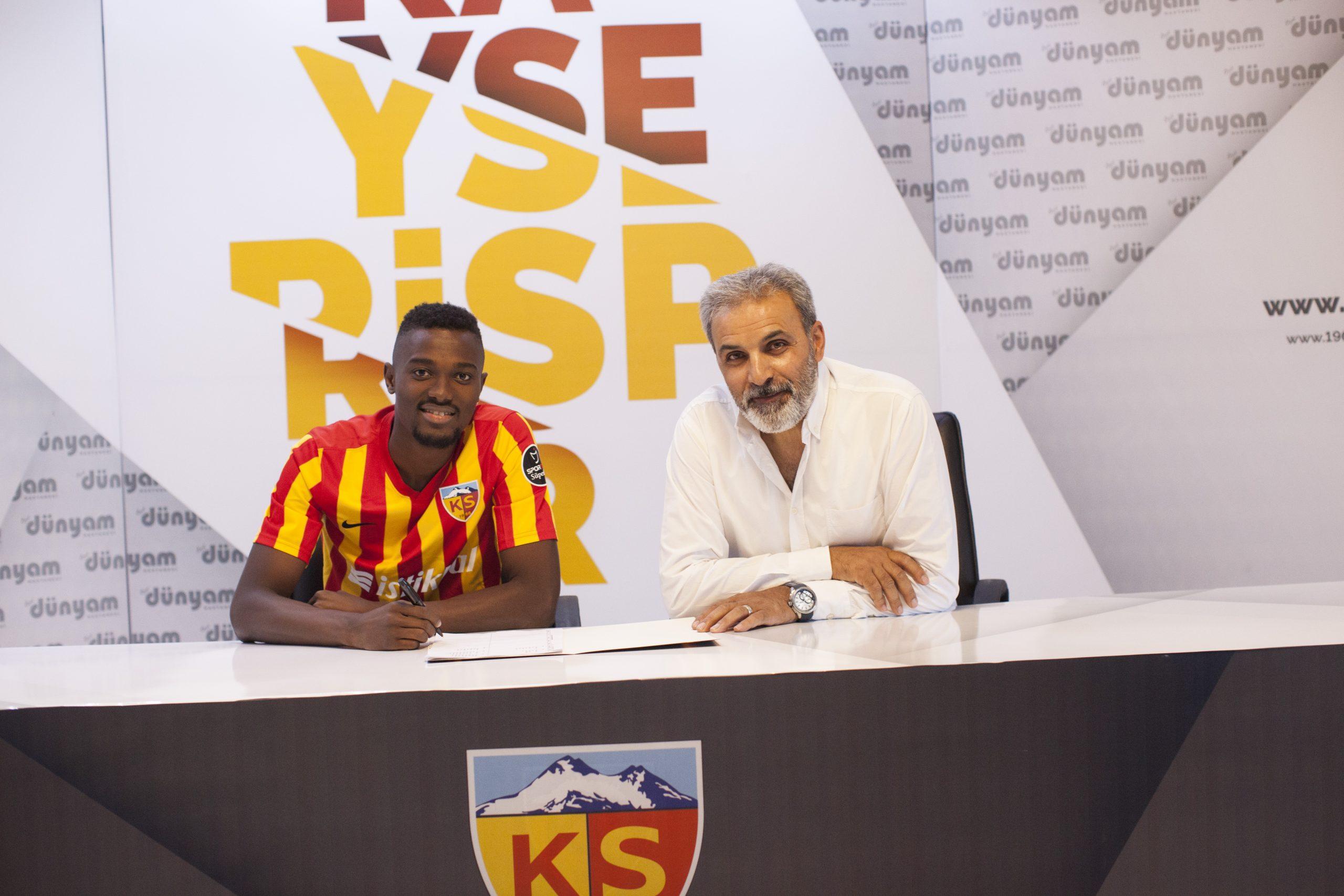 Tony Baffoe wants Asamoah Gyan to 'take care' of Mensah at Kayserispor