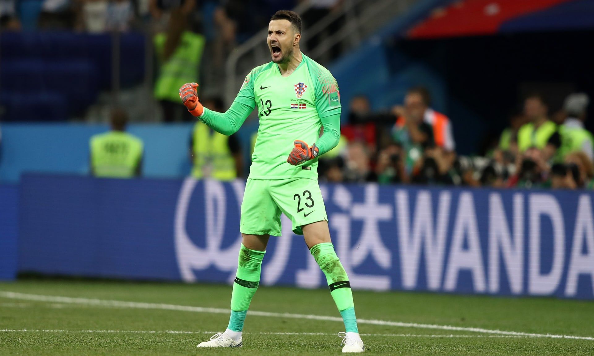 Croatia 1(3)-1(2) Denmark - Croatians set up quarter-final against Russia despite Kasper Schmeichel heroics