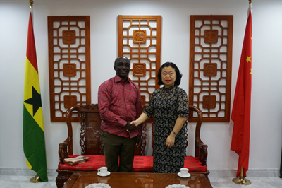 Edward Boateng marks first anniversary as Ghana's Ambassador to China
