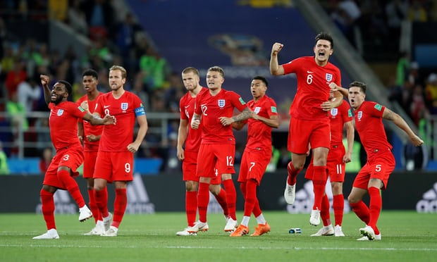 Colombia 1(3) -1(4) England - England win penalty shootout and through to quarter-finals