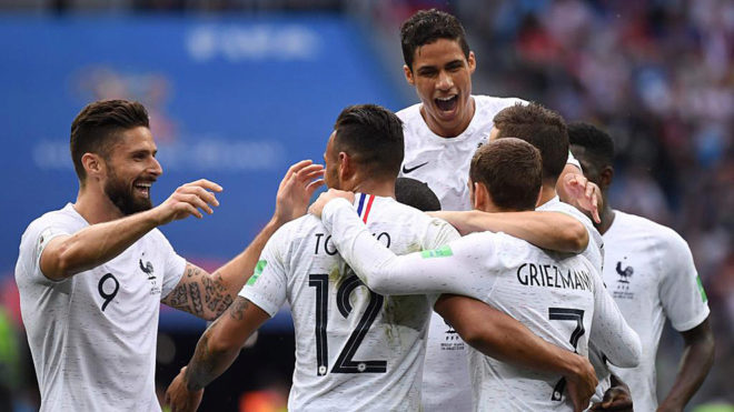 Uruguay 0-2 France - Les Blues down Uruguay after Muslera error to reach World Cup semis
