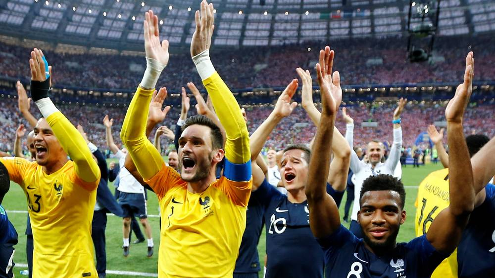 Image result for France revels in Les Bleus' World Cup victory