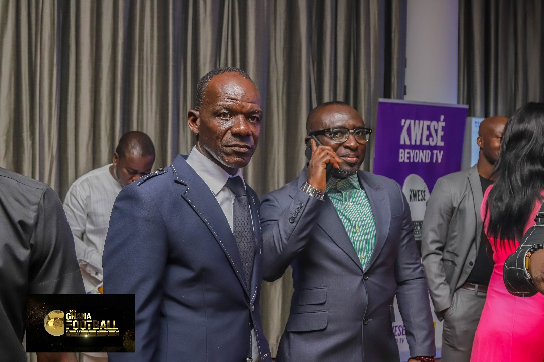 PHOTOS: Top football personalities grace maiden Ghana Football Awards