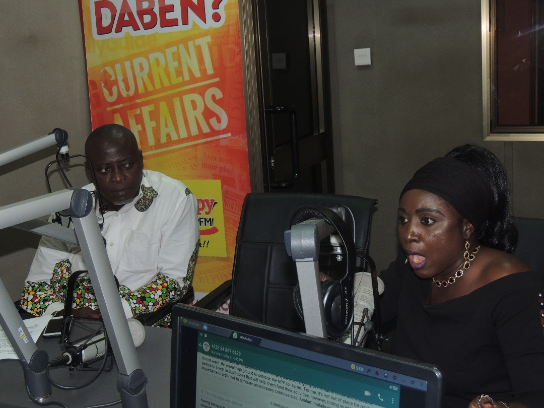 Video of the Month: Watch Hanna Bisiw dancing inside Happy FM's studio