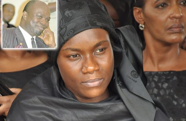 Powerful NPP forces killed my husband - Widow of JB Danquah Adu alleges
