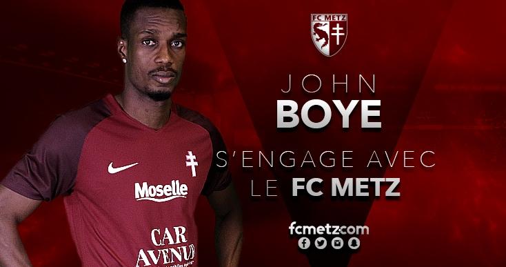 Ghana defender John Boye excels on Metz debut in win over Troyes