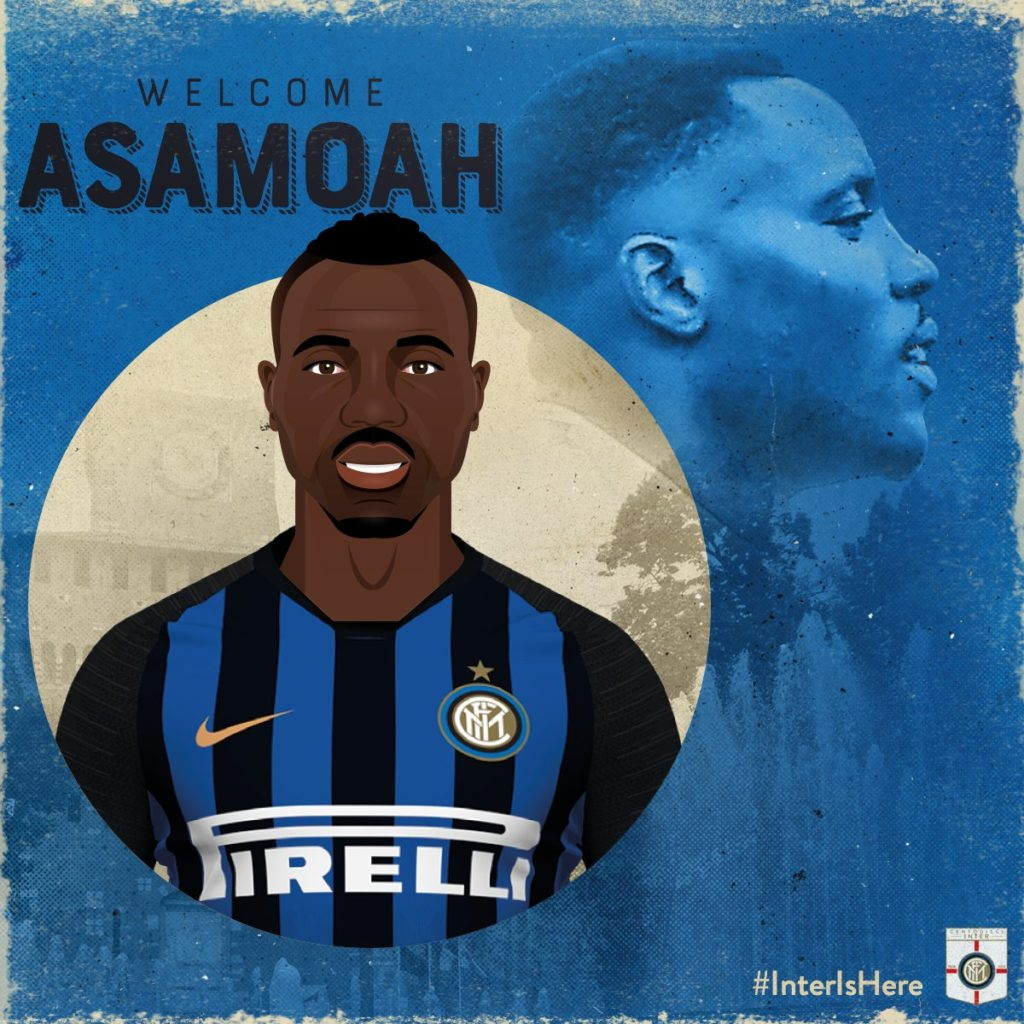 OFFICIAL: Ghana star Kwadwo Asamoah signs three-year deal with Inter Milan