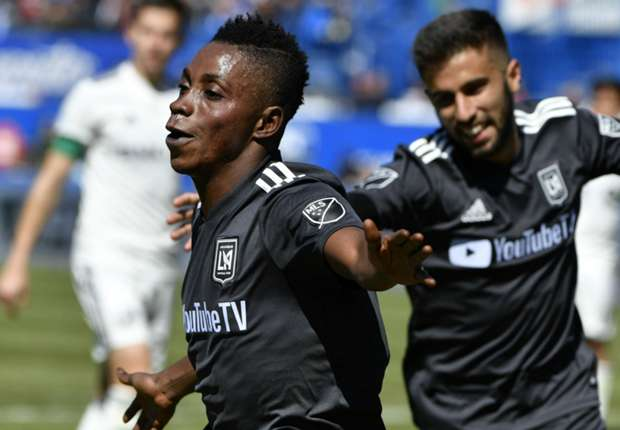 Ghana's Latif Blessing provides assists and scores as Los Angeles thump Philadelphia Union