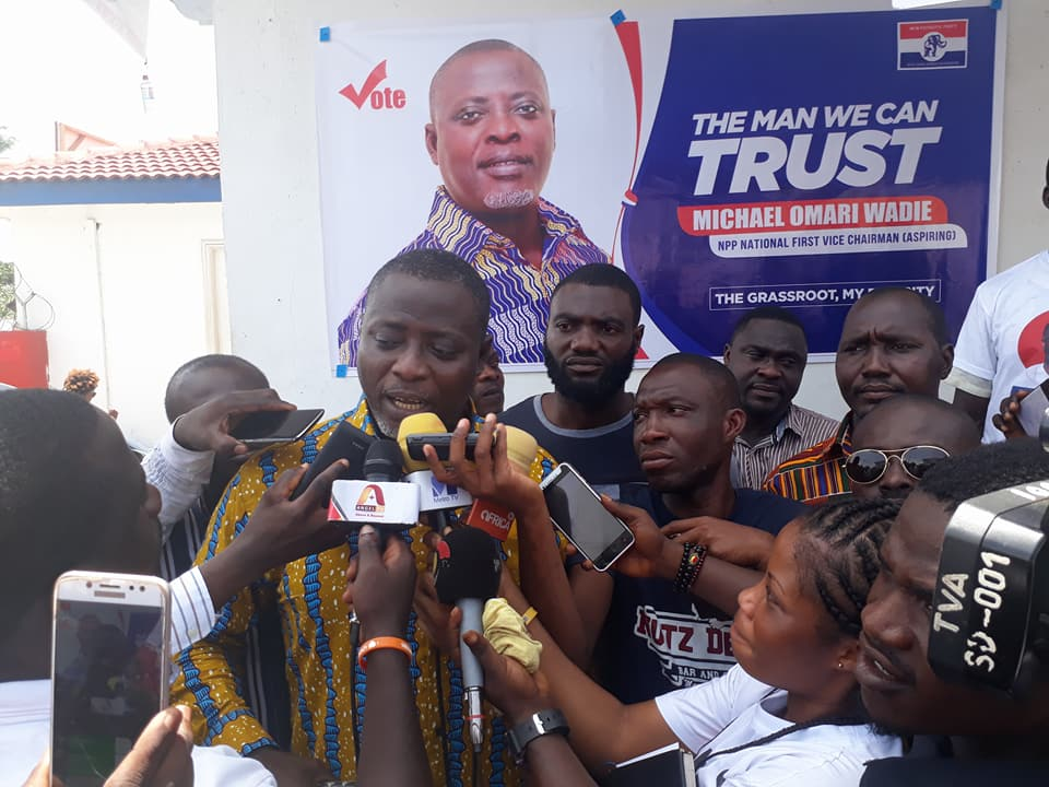 Omari Wadie, Asobayire, F.F. Anto elected NPP Vice-Chairpersons