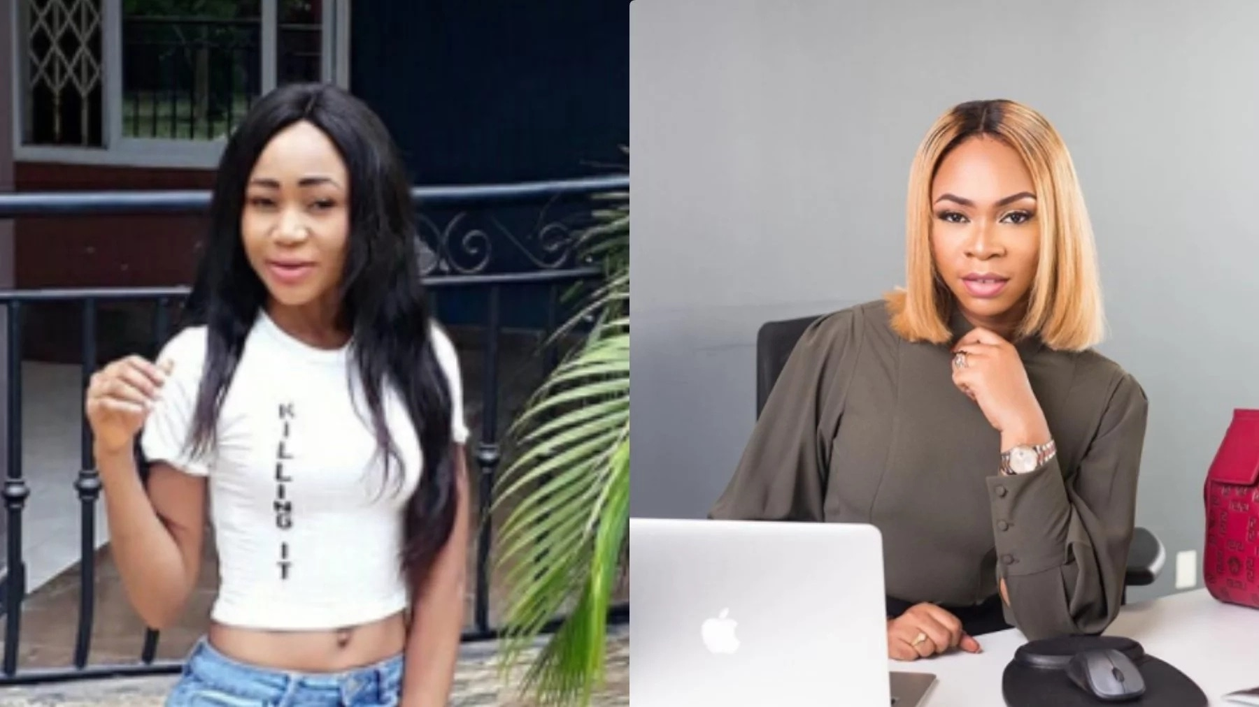 Shatta Michy advises Rosemond Brown