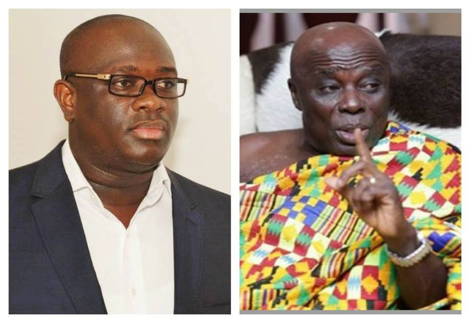 Tackle the collapsed National ambulance service under your 'son' Akufo-Add - Stan Dogbe blasts Okyehene