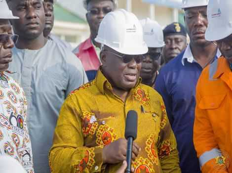 Mahama's Infrastructural development cant be seen – Akufo-Addo
