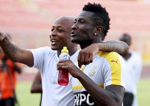 BREAKING NEWS: Ayews, Gyan dropped as Kwadwo Asamoah returns to Black Stars for Kenya clash