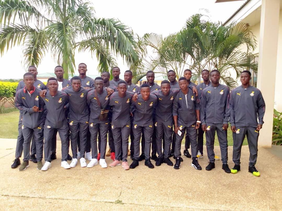 PHOTOS: Black Starlets depart to Niger for WAFU Zone B U17 tournament