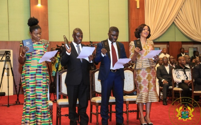 New EC chair Jean Mensa; 2 deputies sworn into office
