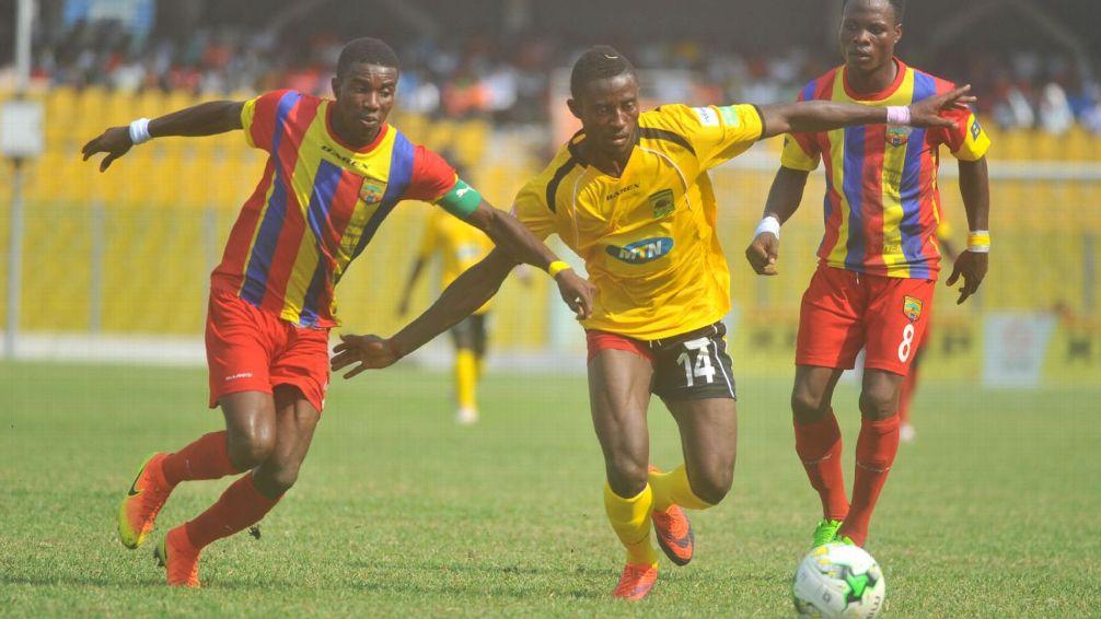 CONFIRMED: Hearts of Oak to battle Asante Kotoko on August 19