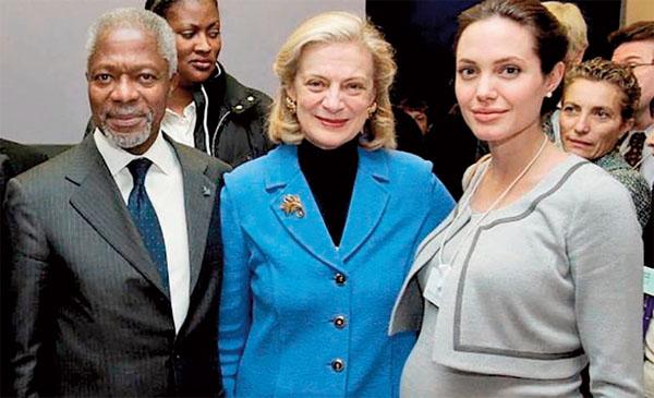 Angelina Jolie eulogizes the late former UN chief Kofi Annan