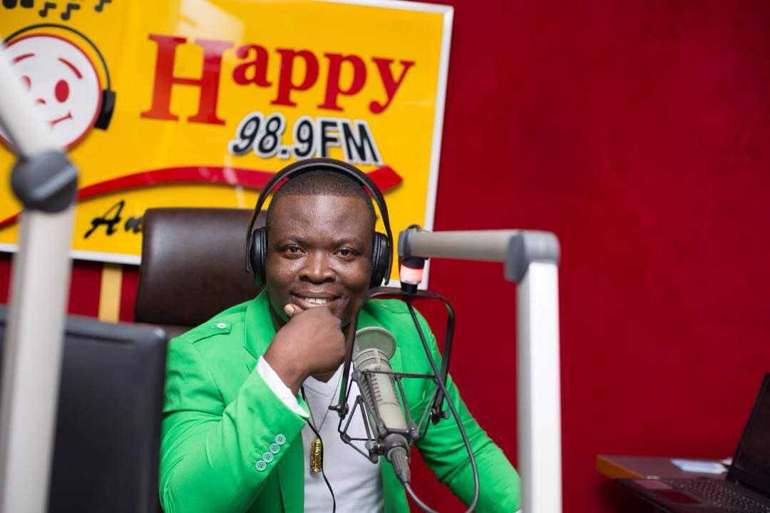 Happy FM's Nyansa Boakwa nominated for 2018 RTP Awards