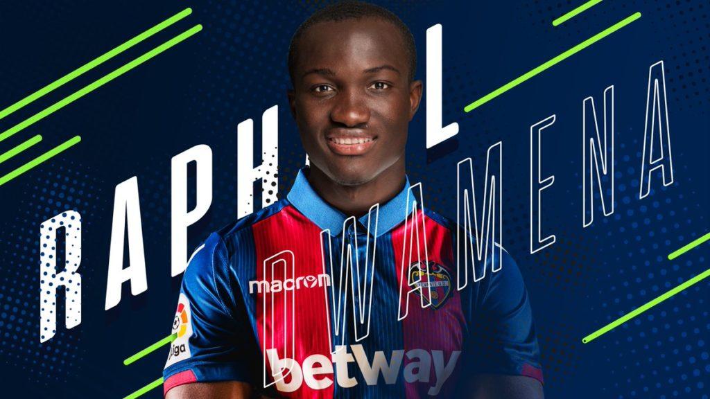 BREAKING NEWS: Raphael Dwamena joins Spanish side UD Levante