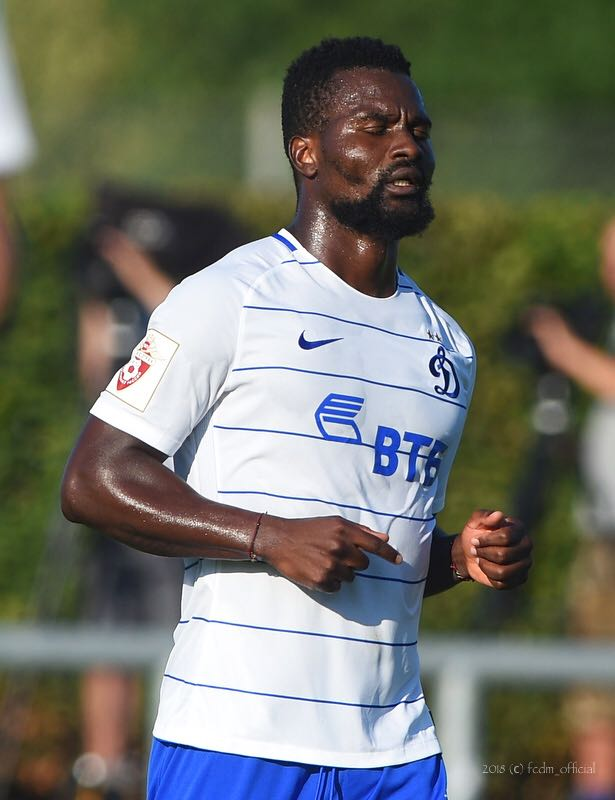 Dynamo Moscow boosted by return of star midfielder Aziz Tetteh from suspension