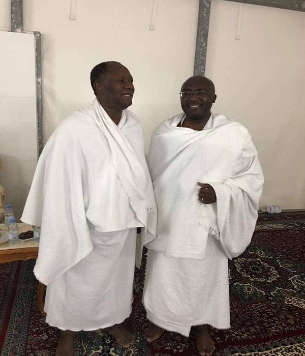 Hajj 2018: Bawumia meets Ouattara at Mecca