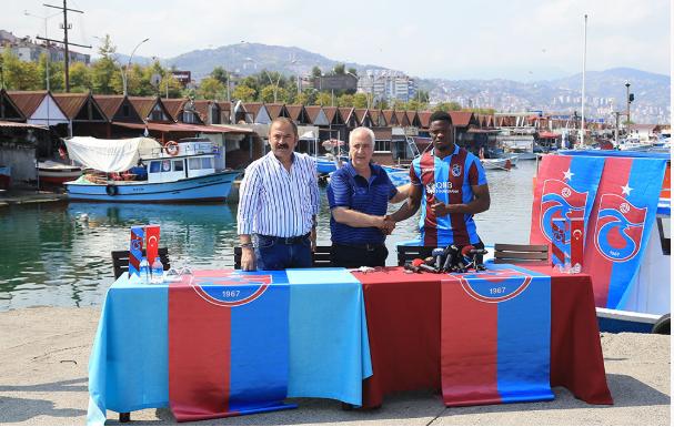 OFFICIAL: Ghanaian forward Caleb Ekuban completes Trabzonspor move