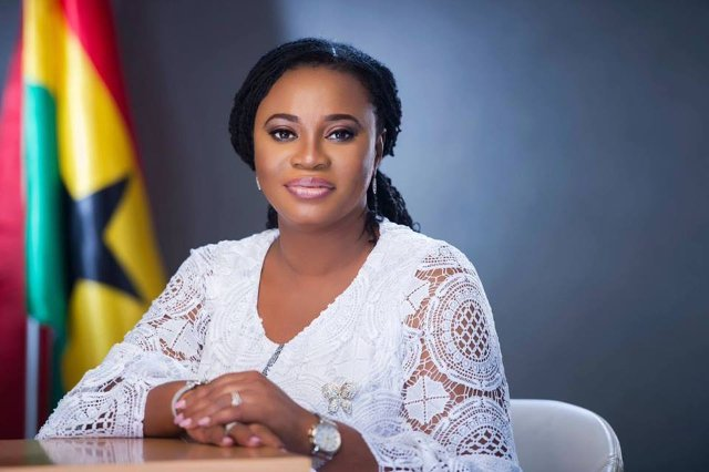 Charlotte Osei refutes claims of keeping a government vehicle