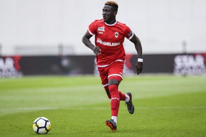 In-form Royal Antwerp defender Daniel Opare makes Black Stars return