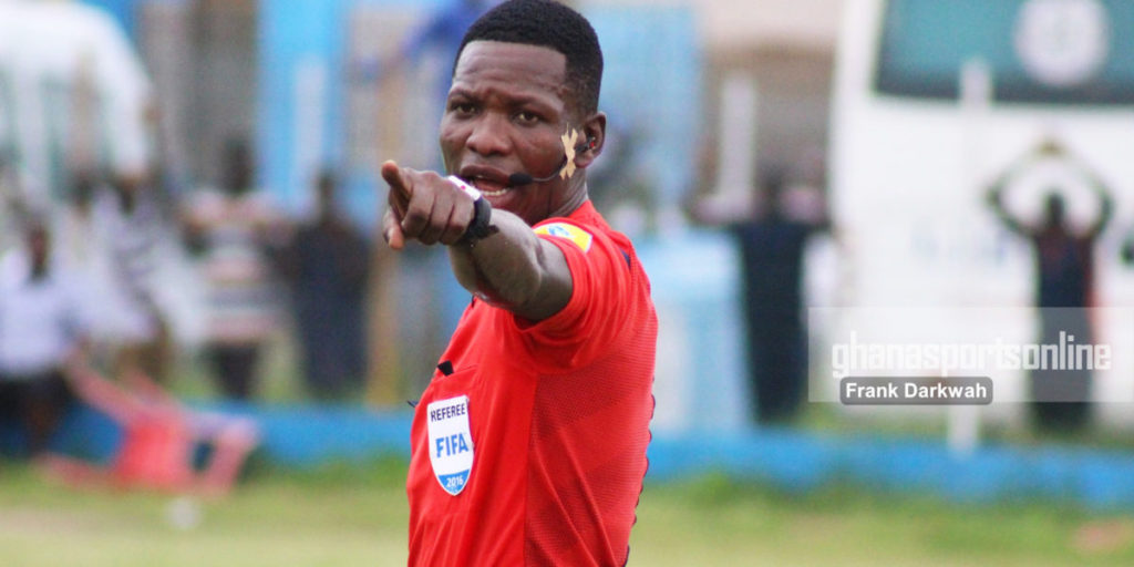 BREAKING NEWS: CAF bans referee David Laryea for life over match manipulation