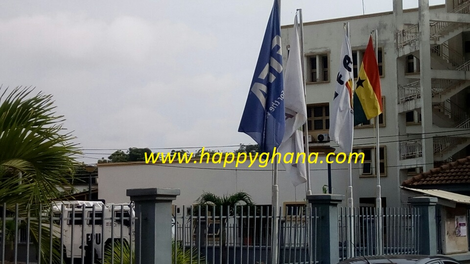 PHOTOS: GFA premises remains under heavy police guard despite court order to government to return its assets