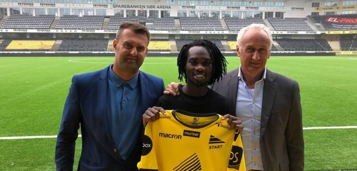 OFFICIAL: Ghanaian striker Ibrahim Arafat Mensah joins IK Start