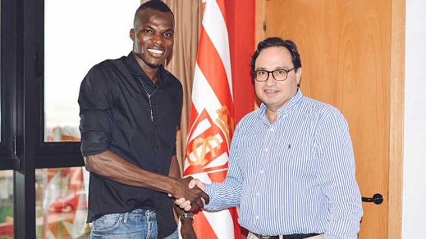 OFFICIAL: Ghanaian midfielder Isaac Cofie joins Spanish side Sporting Gijon