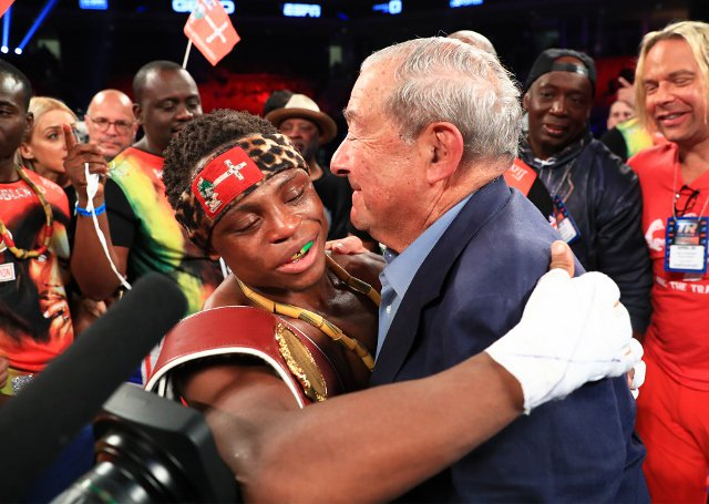 Ace boxing promoter endorses Isaac Dogboe as Ghana's next Azumah Nelson