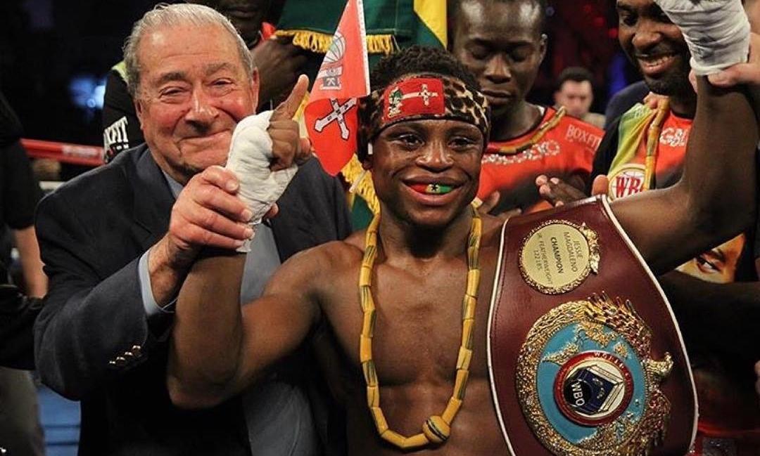 BREAKING NEWS: VIDEO -Isaac Dogboe defeats Hidenero Otaki in 1st round TKO to defend WBO Super-Bantamweight crown
