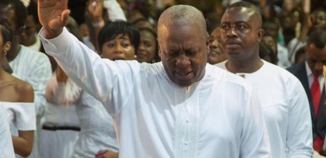 John Mahama prayed about his comeback