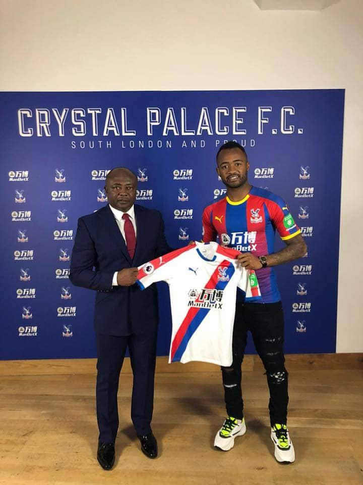 BREAKING NEWS: Jordan Ayew completes loan switch to Crystal Palace