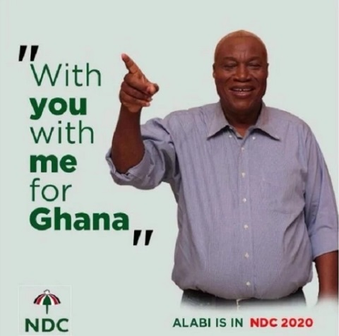 Prof. Alabi formally joins NDC presidential race