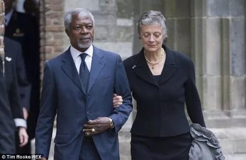 Nane Annan eulogizes her departed husband Kofi Annan