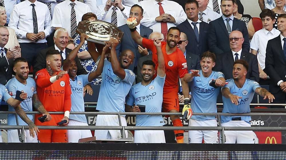 Manchester City win the Community Shield 2018 as Sergio Aguero sinks Chelsea in 2-0 Wembley win